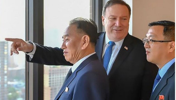 Key North Korea official meets Pompeo in New York