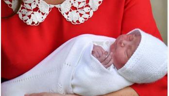 Prince William, Kate Middleton reveal new son