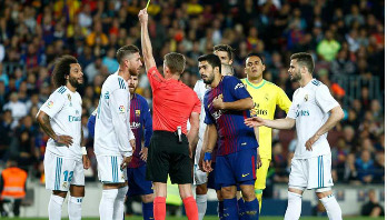 Barcelona draws Real Madrid 2-2 in El Clasico 2018