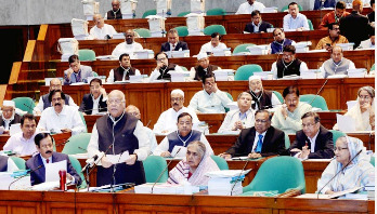 Muhith unveils Tk 4,64,573cr national budget