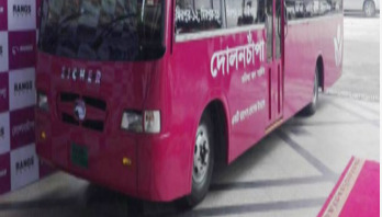Dolonchapa bus service for women launched