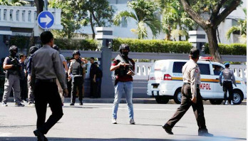 Now Indonesia police headquarters come under suicide attack