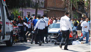 6 traffic police officers killed in Mexico