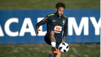 Neymar recovering better than expected for WC
