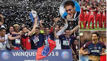 PSG win Coupe de France to secure domestic treble
