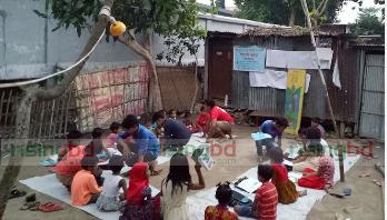 সুবিধাবঞ্চিত শিশুদের 'পলাশ রাঙা' স্কুল