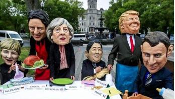 War of words ahead of G7 summit