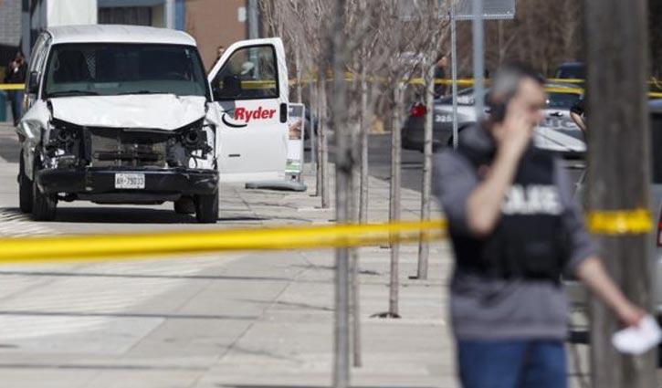 Vehicle incident kills 10 pedestrians in Toronto