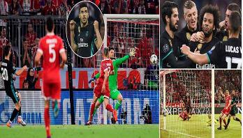 Real Madrid repeat comeback feat at Bayern