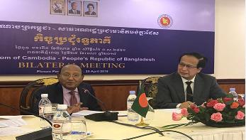 'কম্বোডিয়ার সঙ্গে বাংলাদেশে বিপুল বাণিজ্য সম্ভাবনা'