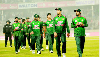 Bangladesh level T20I series beating Windies by 36 runs