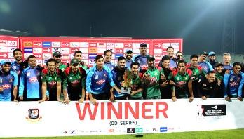 Bangladesh clinch series against West Indies