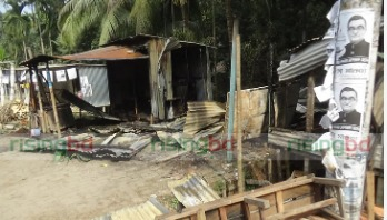 Four AL camps vandalised, another gutted
