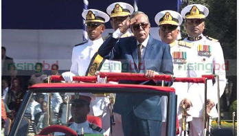 President asks naval officers to safeguard sovereignty