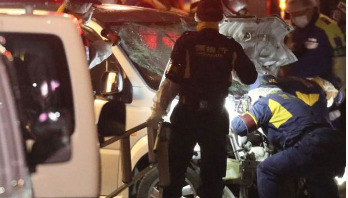 Car rams into New Year's crowd in Japan, 8 injured