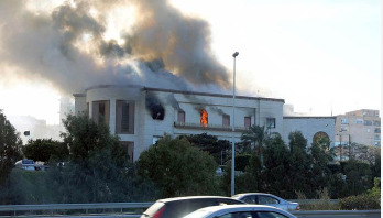 3 killed as suicide bomber attacks Libya's Foreign Ministry