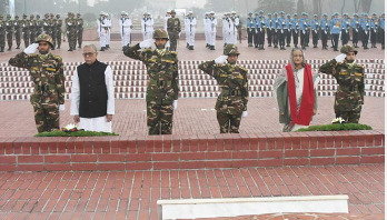 President, PM pay tributes to martyrs on Victory Day