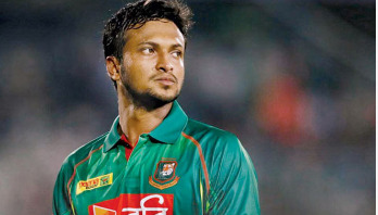 Shakib Al Hasan fined for showing dissent
