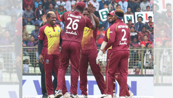 West Indies beat Bangladesh by 8 wickets