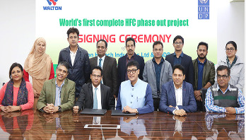 UNDP signs world's first HFC Phase Out contract with Walton