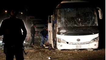 Deadly blast hits tour bus in Egypt, 4 killed