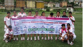 Bangladesh emerge group champions beating Nepal 3-0