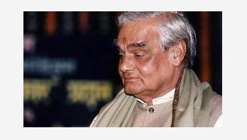 Atal Bihari Vajpayee on life support