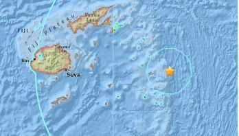 Magnitude 8.2 quake strikes in the Pacific