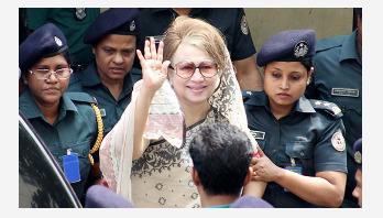 Khaleda's bail in Narail case upheld