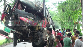 3 killed as bus plunges into Gopalganj ditch