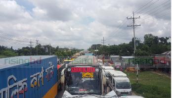 Gazipur blockade called off, vehicular movement resumes