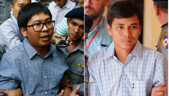Reuters journalists jailed in Myanmar over secrets act