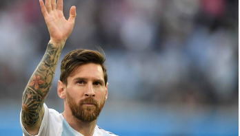 Messi out for Argentina for 2018