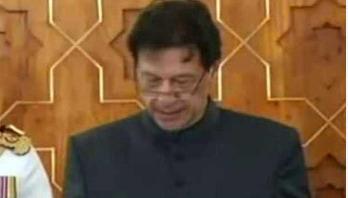 Imran Khan sworn in as Pakistan PM