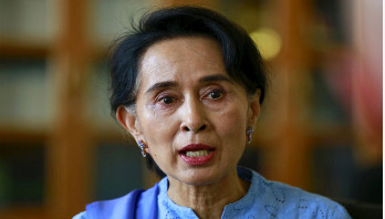 Timing of Rohingya return depends on Bangladesh: Suu Kyi