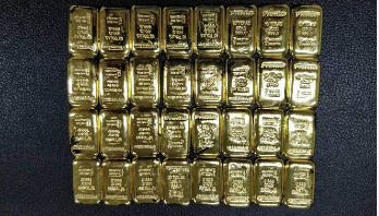 Gold worth Tk1.5cr seized at Ctg airport