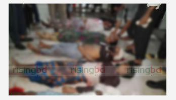 Bus-mahindra collision kills 6 in Barguna