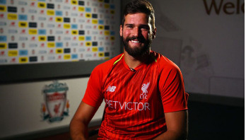 Liverpool sign goalkeeper Alisson for world-record fee
