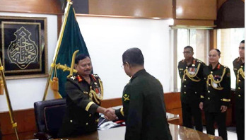 Aziz Ahmed takes charge as Army Chief