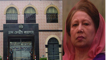 Khaleda passes time with relatives in jail