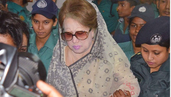 Khaleda's brother writes for her treatment at United Hospitals