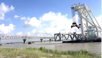 Fifth span of Padma Bridge installed