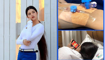 Pori Moni hospitalized again