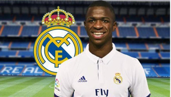 Vinicius officially joins Real Madrid