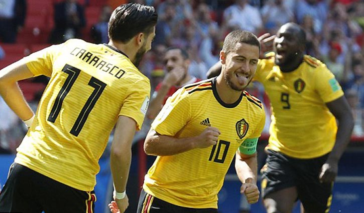 Belgium makes a statement with rout of Tunisia