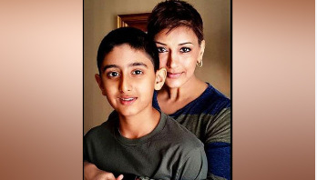 Sonali Bendre's emotional post on her son