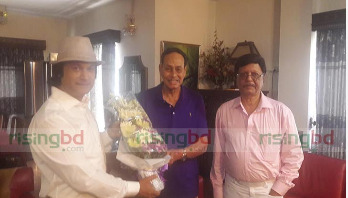 Singer Shafin joins Jatiya Party