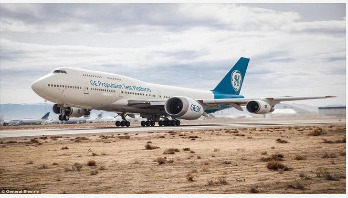 World's biggest jet engine takes to the skies