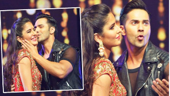 Varun, Katrina in India's biggest dance film
