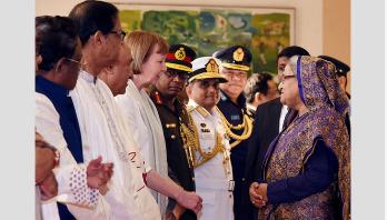 PM leaves Dhaka for KSA, UK